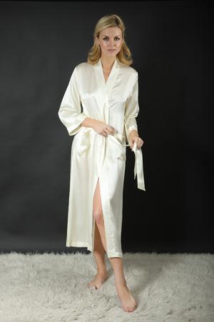 Silk Negligee (Dressing Gown/Robe) 1 piece